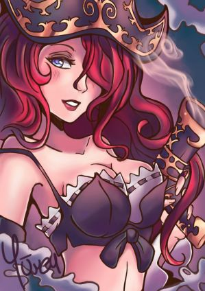 Miss fortune by Otachi-chan