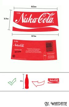 Fallout Nuka-Cola Label by Whatpayne