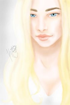 Speed Painting 2 by kimcrawford