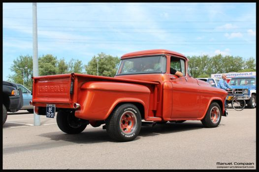 1958 Chevy 3100 by compaan-art