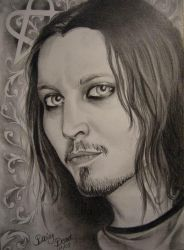 Ville Valo by Daisy-Dead