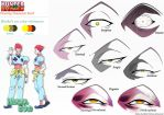Hunter x Hunter - Hisoka's Eyes by Andy-chanWantToDraw