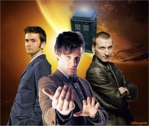 The Three Doctors by nancywho