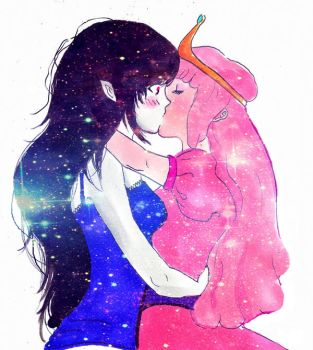 bubbline sparkle kiss by Mirrei