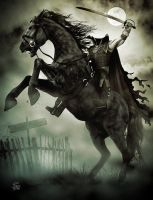 The Headless Horseman Rides Again by seanearley