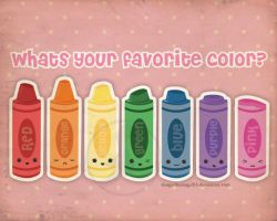 Whats your Fav Color? by danger0usangel03