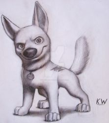 Bolt Pencil Drawing by Spectrum-VII