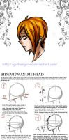 Tutoriel: Side view anime face by GothamGirlDC