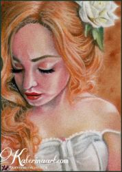 Florence - ACEO by Katerina-Art