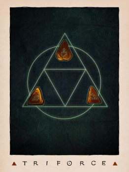 LOZ Redux: The Triforce by Deimos-Remus