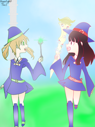 Soul Witch Academia by MoonlightTail-YT