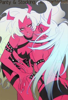 Scanty and Kneesocks by inkerpape