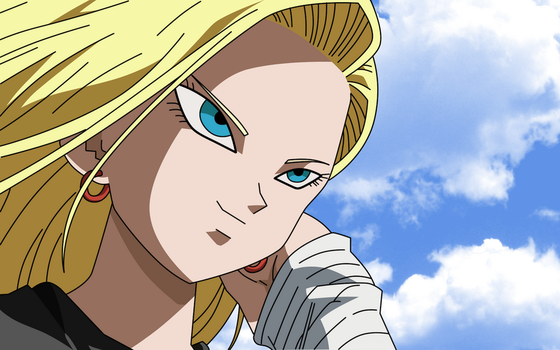 Dragon Ball Z - Android 18 by XTi4N