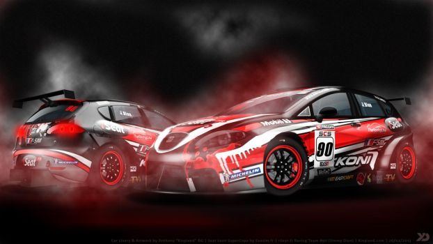 rSeat Racing Team - Seat Leon SuperCopa 2013 by Kinpixed