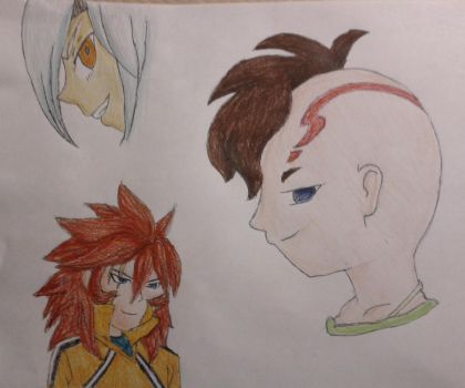 Inazuma 11 by Elise-the-Hedgehog98
