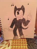The Dancing Devil, Bendy by ShadAmyfangirl129