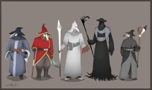 Plague Wizards by KrumpZero