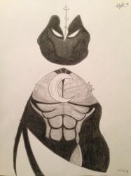 Moon Knight by StreifSketches