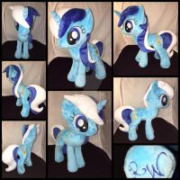 MLP 13 inch Minutte/Colgate plushie -BronyCon 2016 by RubioWolf