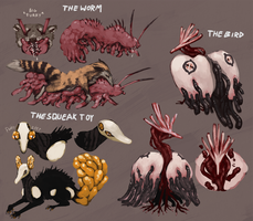Some gross squishy adoptables (CLOSED) by ToothlessEgo