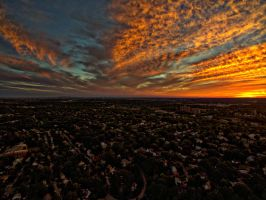 Drone Sunset IV by FinelliFotography