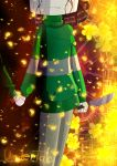 Chara's Determination by DearViley