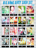 Big Bang Dirty Cash Icons by Madygirl