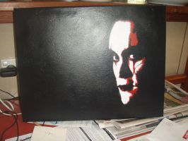 The Crow Canvas by deadwitchy
