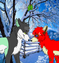 Cola and Ren: It's a White Christmas Yet by Thats-Bogus