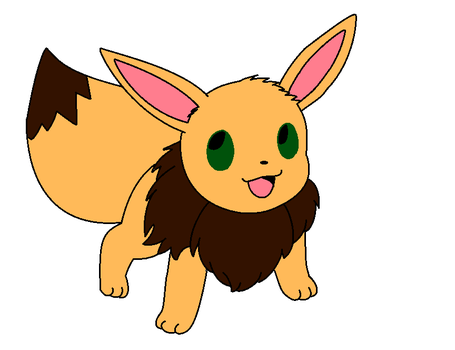 Sal the eevee by brandi3981