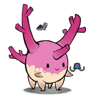 Corsola with friends