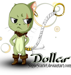 Fairy Tail Oc Exceed Dollar Bones By Sophiescarlet On Deviantart
