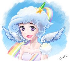 Claudia: Young Emissary of the Clouds by AmbientArtist