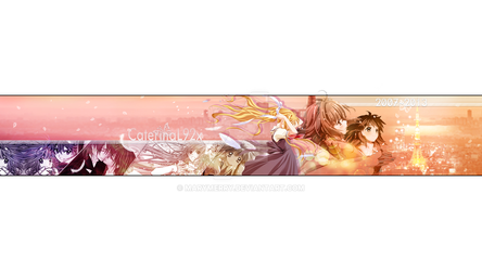 Banner youtube 2013 Anime Mix by MaryMerry