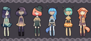 Sergdomkey Collab Adopts - CLOSED! by Sergle
