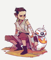 Rey-a-Day 55 by michaelfirman