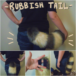 Rubbish Tail by 1PUPsuits