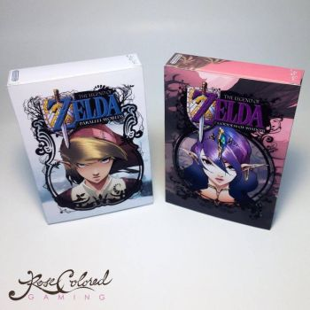 Zelda Goddess of Wisdom / Parallel Worlds Boxes Fr by RoseColoredGaming