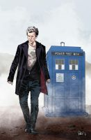 Doctor Who - German variant cover by elena-casagrande