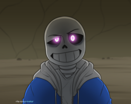 Glitchtale Screenshot Redraw I by The-NoiseMaker