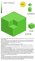 Isometric shading tutorial by lollige