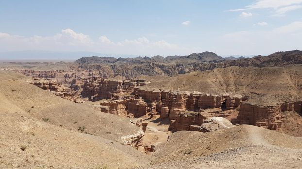 Kazakhstan, Sharyn Canyon. by FatimaNishanbayeva