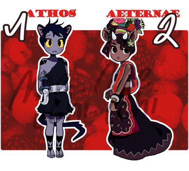 [ADOPT AUCTION] #10 - #11 (closed) by meccchi