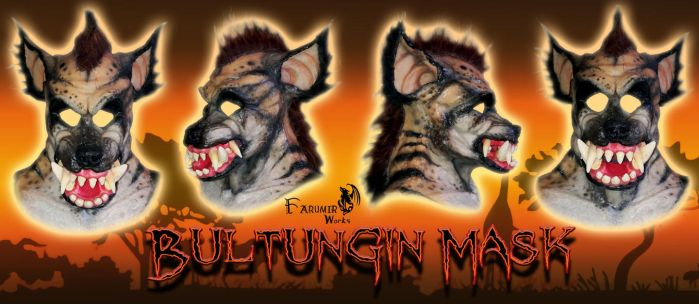 New Bultungin 'Were-Hyena' masks! by Farumir