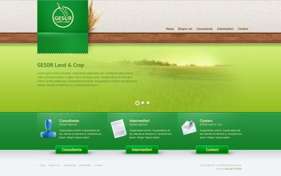 GESOR Land and Crop by rd-signs