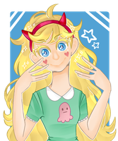 [FA]: Star Butterfly by SimplyDefault