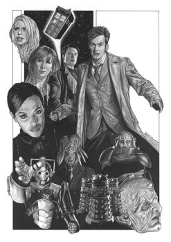 Dr Who II by J-Redd