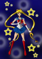 Sailor Moon by Moonlightkittypaw