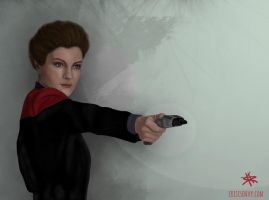 Janeway art process Video by CrisisEnvy