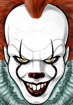Pennywise 2017 by Thuddleston